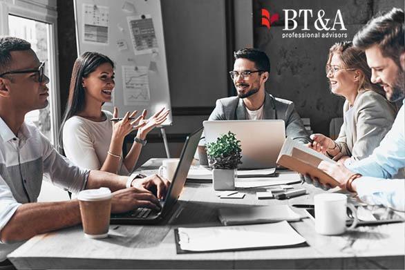 Zebranie zespołu BTA GROUP